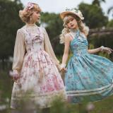 Miss Point ~Begonia Under the Moon Elegant Classic Lolita JSK -Pre-order