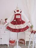 Alice Girl ~Rabbit Strawberry Lolita Blouse -Pre-order