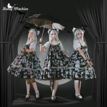 Honey Machine ~The Rabbit and Wolf Detective Lolita JSK -Pre-order