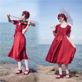 Little Dipper ~To Dear Satin Lolita OP -Pre-order