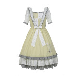 Withpuji ~Daily Wear Embroidery Lolita OP