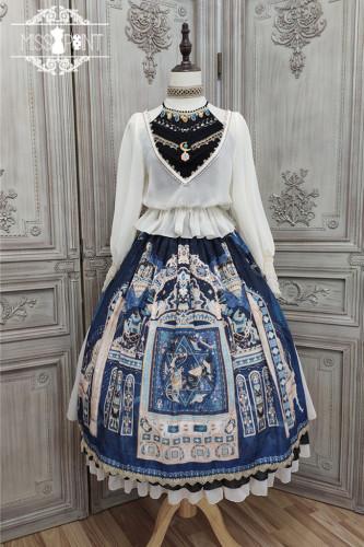 Miss Point ~Twilight Best Side Open Lolita Skirt -Pre-order