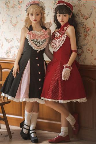 Cat Highness ~Heartbeat Love Song Daily Wear Lolita JSK -Pre-order