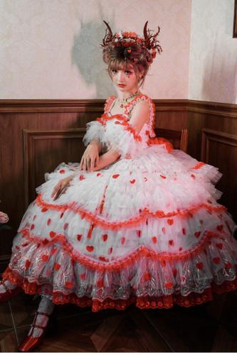 Hakodate Rose Elegant Luxury Lolita JSK -Pre-order