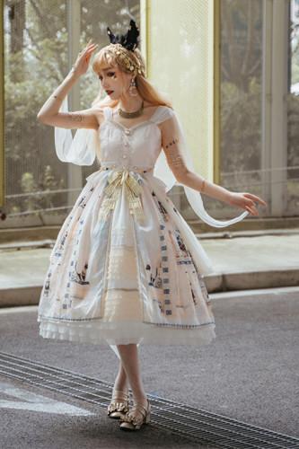 Miss Point ~Twilight Best Elegant Lolita JSK -Pre-order