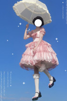 Cat Highness ~Milky Way Moonlight Elegant Lolita OP/JSK -Pre-order