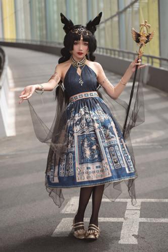 Miss Point ~Twilight Best Halter Neckline Lolita JSK -Pre-order