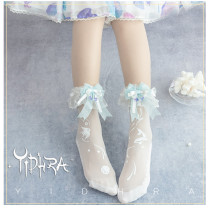 Yidhra Lolita ~Deep Sea Paranoia Summer 20D Lolita Socks