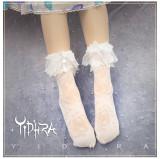 Yidhra Lolita ~Starfish and Gravel Summer Lolita Short Socks