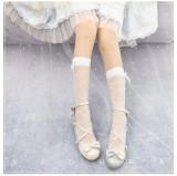 Yidhra Lolita ~The Sleep of Thorns Knee High Lolita Socks