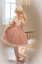 Alice Girl ~Writing a Rose Lolita Long Sleeves OP -Pre-order