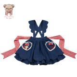 Lullaby Lolita ~Be My Valentine Lolita Salopette