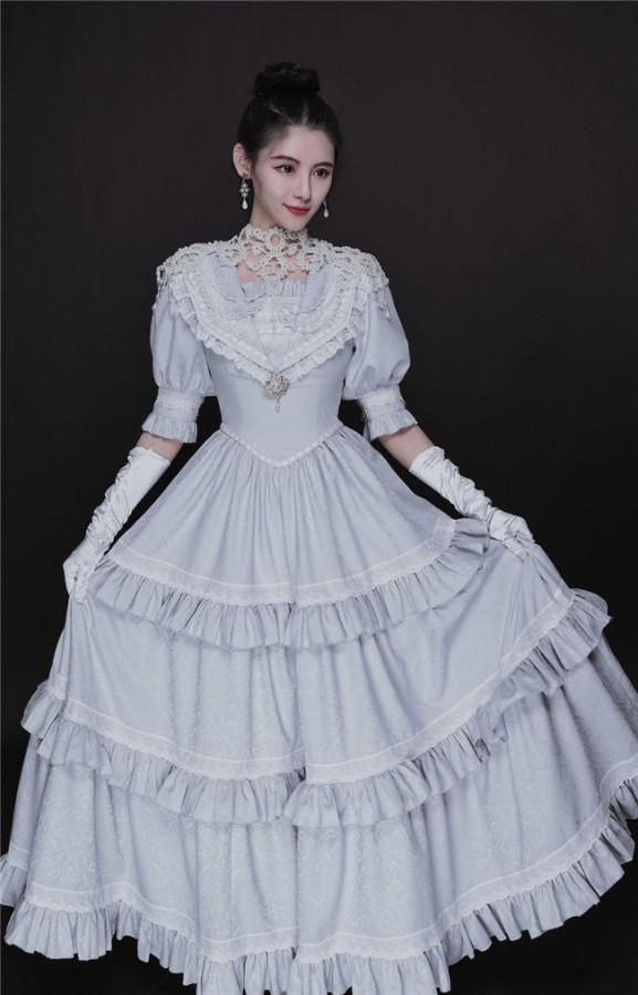 Promise Shining Pearls Elegant Lolita OP