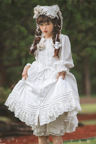 Magic Tea Party ~Nicole Rabbit Daily Wear Lolita OP -Pre-order