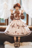 Miss Point ~Chocolate Daily Lolita JSK -Pre-order