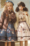 Miss Point ~Chocolate Daily Knit Sweater Jacket -Pre-order