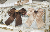 Miss Point ~Chocolate Daily Lolita Accessories -Pre-order