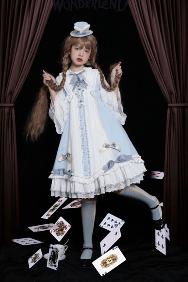 Alice In the Mirror ~Lolita Long Sleeves OP -Pre-order