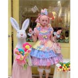 Diamond Honey ~ Rainbow Bubble Sweet Lolita JSK -Pre-order