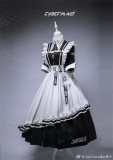 Lilith House ~Cyber Maid Maid Lolita Dresses - In Stock