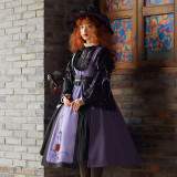 Withpuji The Time of Searcy's Spell Halloween Lolita Set