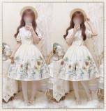 Sunflower Slight High Waist Lolita JSK/OP