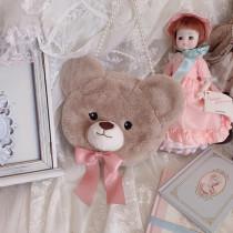 Cute Bear Pastoral Style Handbag - In Stock