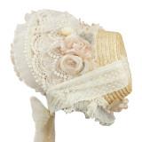 Ling Xi Lolita ~Camellia Luxury Lolita Bonnet -Pre-order