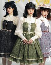 Magic Tea Party ~ Eileen Winter Lolita JSK -Pre-order