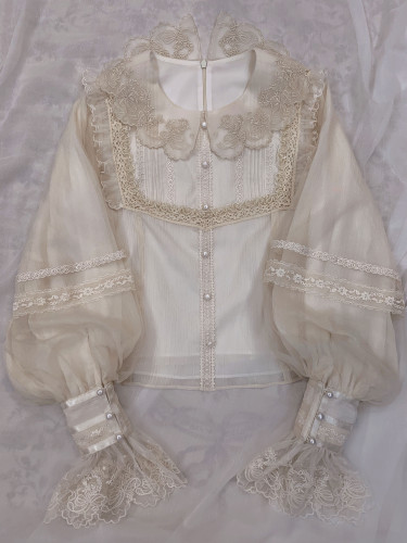 Stars and Clouds in the Universe Lolita Long Sleeves Blouse