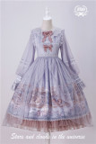 Stars and Clouds in the Universe Printed Lolita OP