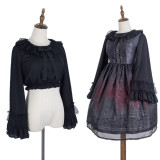 Cheese and Cocoa Long Sleeves Lolita Blouse