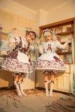 CC Cat Chocolate Confectioner Sweet Lolita JSK -Pre-order