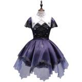 Halloween Pumpkin Midnight Witch Lolita JSK + Fake Collar