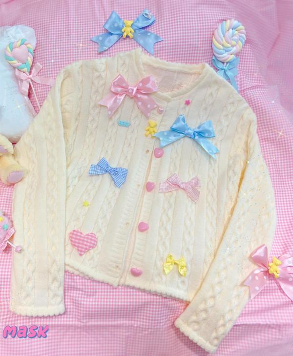 Sweet Baby Bear Sweet Lolita Sweater -Pre-order