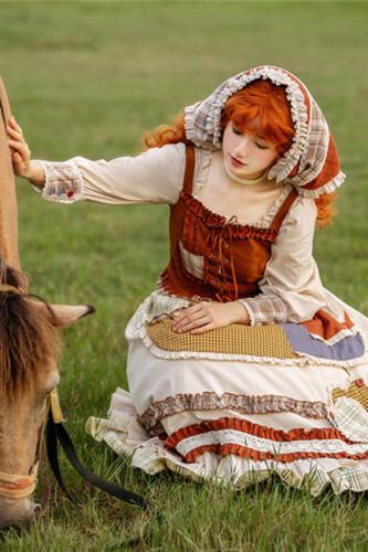 Withpuji ~ The Shepherdess Lolita OP + Vest Set