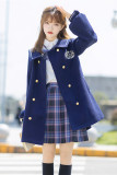 Sailing Route College Style Lolita Coat -Pre-order