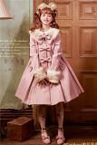 Sweet A-shaped Lolita Long Coat - Pre-order