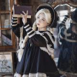The Liliana Sisters ~Antique Peter Pan Collar Lolita OP Short Version -Pre-order