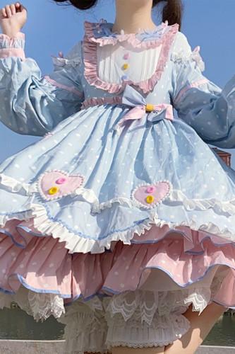 Daily Wear Winter Sweet Lolita OP -Ready Made