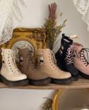 Sheep Puff ~Gift Bear Winter Lolita Boots -Pre-order