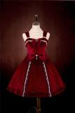 Doris Night  ~The Lucky One Velvet Lolita JSK -Pre-order