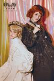 Boguta ~Astrologer Velvet Lolita Trench Coat