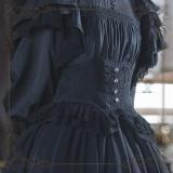 The Liliana Sisters ~Jacquard Cotton Lolita Corset -Pre-order