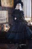 The Liliana Sisters ~Antique Roll Collar Lolita OP Long Version -Pre-order