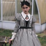 Cellophane Night Adams Manor Lolita OP -Pre-order