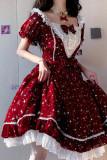 Strawberry Witch ~Midsummer Milky Way Daily Wear Lolita OP/JSK