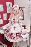 Diamond Honey ~Little Nurse Dolls Hospital Lolita JSK -Pre-order
