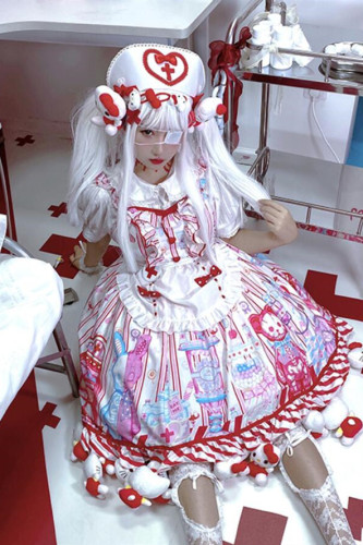 Diamond Honey ~Sweetie Hospital Lolita JSK