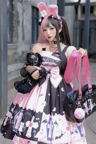 Diamond Honey ~Little Devil Halloween Lolita JSK -Pre-order